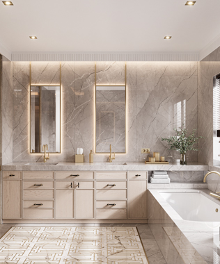 Dare Interiors - Carter Bathroom