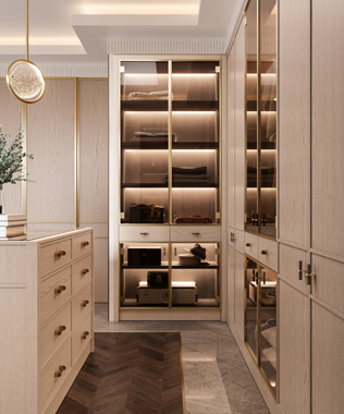 Dare Interiors - Carter Closet wardrobe