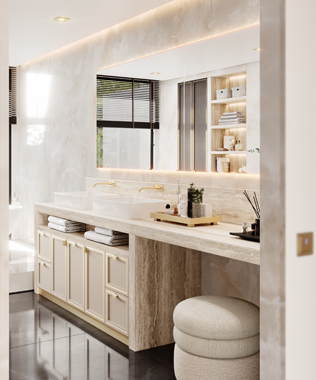 Dare Interiors - Quincy Bathroom